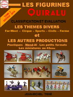 """ LES FIGURINES QUIRALU ""TOME 2- 17X24 DOS CARRE COLLE"