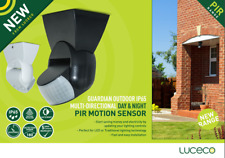 Stand Alone PIR Motion Sensor IP65 Outdoor Security Movement Detector 180 Degree