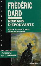 RARE EO FLEUVE NOIR SUPER POCHE N° 11 FRÉDÉRIC DARD : ROMANS D'ÉPOUVANTE