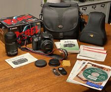 Canon EOS Rebel T4i / EOS 650D 18MP Digital SLR Camera 2 LENSES W/ MANY EXTRAS