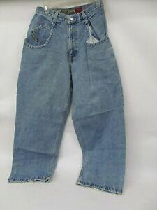 Vintage Denim Jeans – Jnco Low Down Wide Leg 29x30 (actual 29x29) baggy 90s