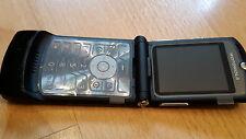 Motorola RAZR v3 Colore Nero/foliert/senza SIM-lock/pieghevole CELLULARE * COME NUOVO *