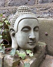 GRANDE Statua Testa Buddha divino per la casa o in giardino. dal designer sius
