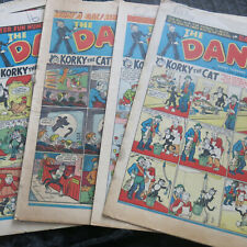 More details for 6 x dandy comics 1 x beano all 1950s d.c. thomson