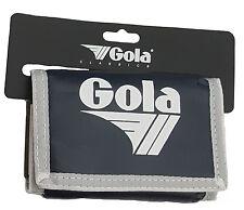 GOLA NYLON WALLET WITH COIN POCKET CUB 300 - NAVY / WHITE