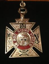 Vintage Historic Masonic San Fransisco Rose Gold Pendant!! Free Shiipping!!