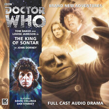 DOCTOR WHO Big Finish Audio CD Tom Baker 4th Doctor #3.1 THE KING OF SONTAR