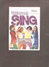 EVERYONE SING !!! INDISPENSABLE Sur Wii/WiiU Jeu NEUF Blister