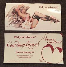 Courtney Love Americas Sweetheart OLIVIA Sticker Promo Hole Cobain 2004 RARE