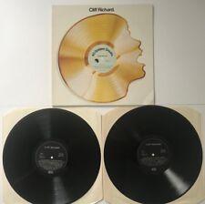 Cliff Richard - 40 Golden Greats Double Album Set Record Vinyl LP - (148)