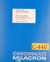 Cincinnati Milacron No. 2 and 3, Milling Machine, Service and Parts Manual 1929