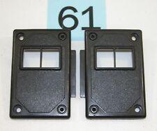 82-92 Camaro 82-86 Firebird Black Power Lock Switch Mounting Panels NICE PR  #61