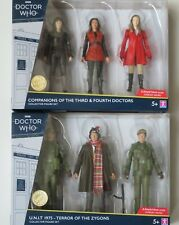 Doctor Who Companions of The 3rd and 4th Doctors Collector Figure Set B&m 2020
