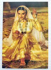 Bollywood Actor Actress Rekha Post card Original Postcard India Star No 295