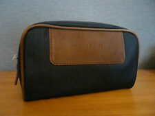 NEU + Versiegelt Lufthansa First Class BRAUN BüFFEL Amenity Kit Gents Men!