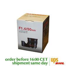 Samyang 50mm F1.4 AS UMC for Nikon F