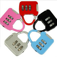 3 Digit Combination Luggage Code Lock Password Padlock TO