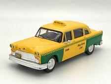 Taxi Checker San Francisco 1980 1/43 IXO ALTAYA neuf sous blister!