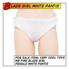 VeryCool Hot Sexy Blade Girl White Pantie / Underwear for 1/6 12 in scale Toys