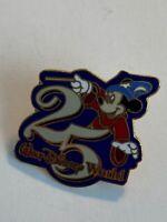 WDW 25Th Anniversary Sorcerer Mickey Disney Pin (B3)