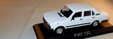 OLDTIMER Modellauto 1977 FIAT 132 MIRAFIORI 2000 Limousine 4-türig weiß 1:43 OVP