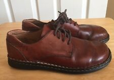 Born Hand Crafted Footware Brown Leather Size 7.5 Shoes 38.5 M/w 10.5 In.Women's