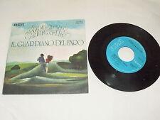 """IL GUARDIANO DEL FARO """"AMORE GRANDE AMORE LIBERO"""" 7"""" RCA Ita 1975"""