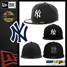 NEWERA New York YANKEES HAT 59FIFTY Fitted Caps MLB Field Hats NAVY BLACK WHITE