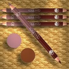 Logona Double Eyeliner Pencil ROSEWOOD Doppelminen-Kajal 05 Naturkosmetik Bio