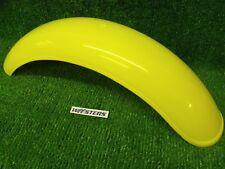 Trials Plastic Yellow Rear Mudguard Bultaco Ossa universal Pre 65  twinshock