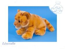 Cuddly Tiger Plush Soft Toy Wildcat by Dowman Soft Touch. RB674