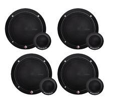 "4) ROCKFORD FOSGATE R165-S 6.5"" 80 Watt 2-Way Car Component System Speakers"