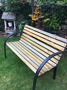 Garden Bench Used Collection Only From Huddersfield