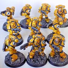 #1 40K space marines imperial fists Tactical marines squad Forge World Parts