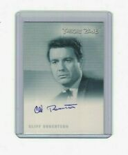 THE TWILIGHT ZONE CLIFF ROBERTSON AUTOGRAPH CARD A-135 MINT VERY LIMITED RARE