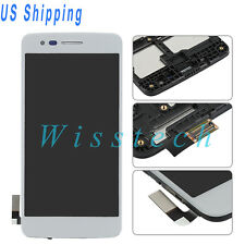 LCD Screen Digitizer Touch+Frame For LG M210 MS210 Aristo LV3 LG K8 2017 Silver