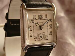Bulova 1925 DIPLOMAT vintage manual wind watch 10A White RGP Rare Collector