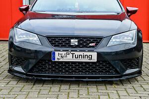 Sonderaktion Spoilerschwert Frontspoiler ABS für Seat Leon 5F Cupra FR mit ABE