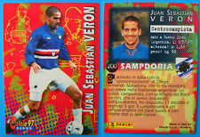 CARDS PANINI CALCIO 97 - n.200 - JUAN SEBASTIAN VERON - SAMPDORIA - 2^ serie