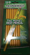 Ticonderoga Sharpened Cedarwood #2 Pencils 12ct **SCHOOL SUPPLIES** Shipp Inc.