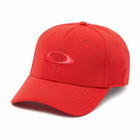 Oakley tincan cap red black ss 2019 cappellino skate surf hat