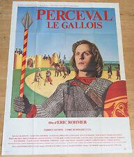 Affiche de cinéma : PERCEVAL LE GALLOIS de ERIC ROHMER