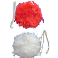 Women Ostrich Feather Fur Shoulder Bag Round Clutch Chain Party Wallet Handbags