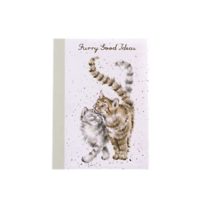 Wrendale Designs A6 Notebook Lined Pages Feline Good Cats