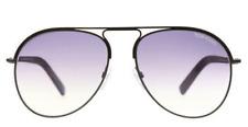 TOM FORD Aviator Sunglasses CODY Gunmetal/Violet Gradient Lens TF448-48Z ~NIB!