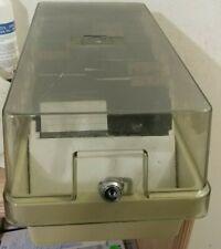 Diskettenbox für (90) 5,25 Zoll + 90 Disks (no key & 6 registers)