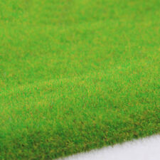 4sets Model Train Layout Green Grass Mat 25*25cm HO Scale OO Scenery Turf Decor