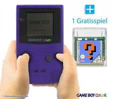 GameBoy Color - Konsole #Lila/Purple/Grape + Gratis Spiel