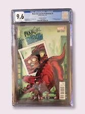 Moon Girl and Devil Dinosaur #1 1:25 Von Eeden Variant CGC 9.6 NM+ Marvel 2016