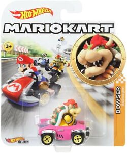 HOT WHEELS MARIO KART BOWSER BADWAGON EURO NEW